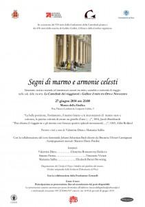 Museo della Grafica_Palazzo Lanfranchi_Segni di marmo e armonie celesti_27 giugno 2014